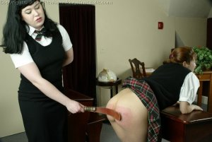 Real Spankings Institute - Betty Straps Michelle For Cheating - image 5