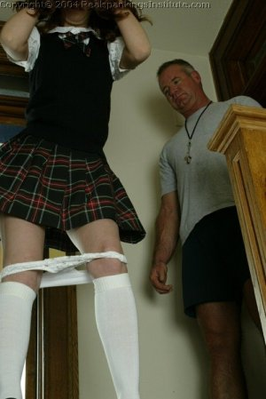 Real Spankings Institute - Coach Spanks Michelle For Tardiness - image 4