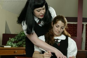 Real Spankings Institute - Betty Straps Michelle For Cheating - image 17
