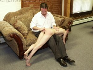 Real Spankings Institute - Misty Punished In The Dean's Office - image 8