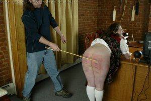 Real Spankings Institute - Lori's Friday Punishment With The Dean - image 7