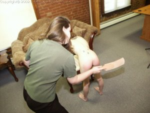 Real Spankings Institute - Misty Punished In The Dean's Office - image 17