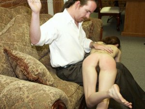Real Spankings Institute - Misty Punished In The Dean's Office - image 11