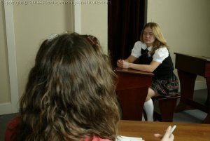 Real Spankings Institute - Kathy And Jennifer Are Caned By The Dorm Mom - image 9