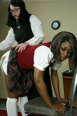 Real Spankings Institute - Marissa Is Spanked By Betty - image 1