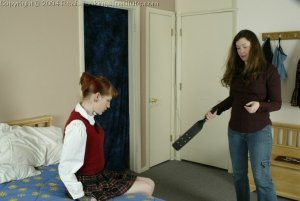Real Spankings Institute - Holly Is Severely Strapped For Stealing - image 2