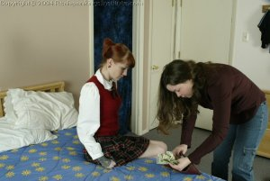 Real Spankings Institute - Holly Is Severely Strapped For Stealing - image 7