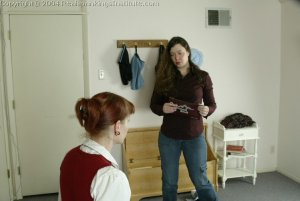 Real Spankings Institute - Holly Is Severely Strapped For Stealing - image 15