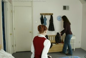 Real Spankings Institute - Holly Is Severely Strapped For Stealing - image 12