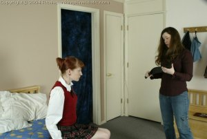 Real Spankings Institute - Holly Is Severely Strapped For Stealing - image 17