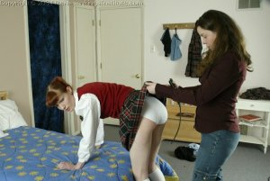 Real Spankings Institute - Holly Is Severely Strapped For Stealing - image 13