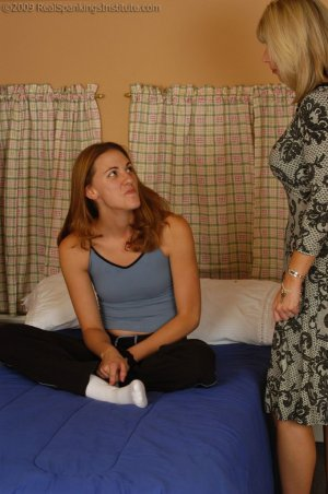 Real Spankings Institute - Monica Is Caught In A Lie - image 1