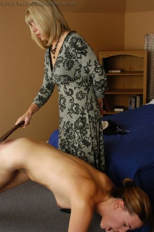 Real Spankings Institute - Monica Is Caught In A Lie - image 13