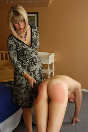 Real Spankings Institute - Monica Is Caught In A Lie - image 4