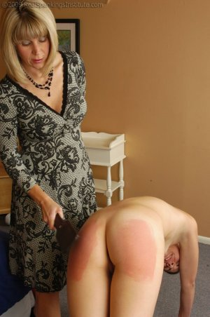 Real Spankings Institute - Monica Is Caught In A Lie - image 10