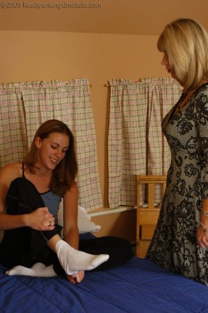 Real Spankings Institute - Monica Is Caught In A Lie - image 12