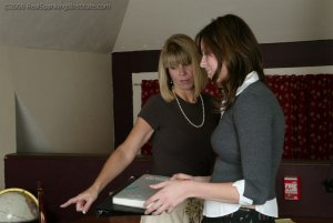 Real Spankings Institute - Jackie Turns In Incomplete Work - image 6