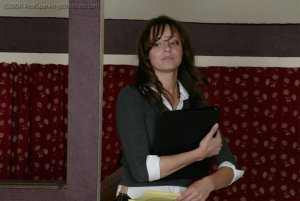 Real Spankings Institute - Jackie Turns In Incomplete Work - image 13