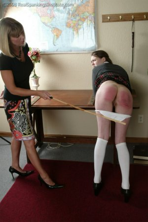 Real Spankings Institute - Melody Does Not Dress For Gym - image 13