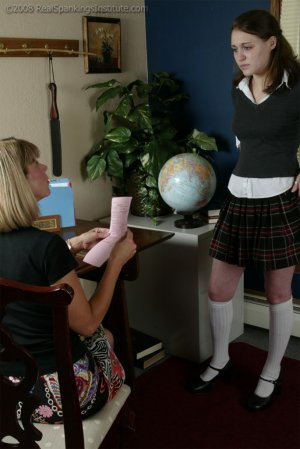 Real Spankings Institute - Melody Does Not Dress For Gym - image 15