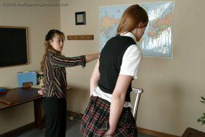 Real Spankings Institute - Ms. Baker Gives Monica A Strapping - image 8