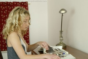 Real Spankings Institute - Sarah Is Strapped Hard By The Dorm Mom - image 15