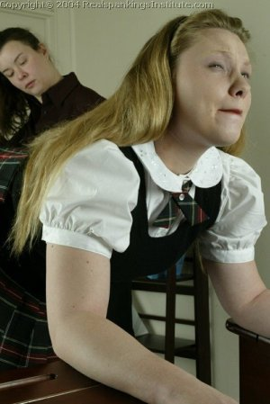 Real Spankings Institute - Carrie Is Caned By The Dorm Mom - image 5