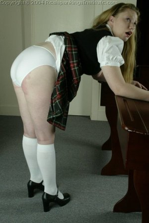 Real Spankings Institute - Carrie Is Spanked With The Tawse - image 12