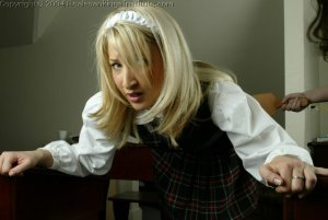 Real Spankings Institute - Sarah Is Strapped In The Classroom - image 17
