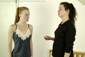 Real Spankings Institute - Jessica Is Spanked By The Dorm Mom - image 13