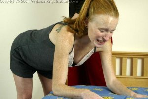 Real Spankings Institute - Jessica Is Spanked By The Dorm Mom - image 1