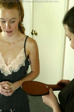 Real Spankings Institute - Jessica Is Spanked By The Dorm Mom - image 12