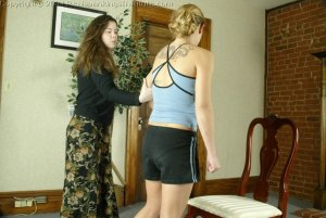 Real Spankings Institute - Jennifer Is Spanked With The Yard Stick - image 10
