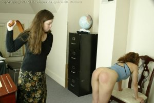 Real Spankings Institute - Jasmine Strapped For Insolence - image 1