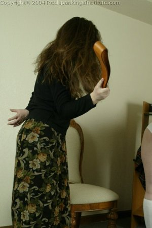 Real Spankings Institute - Betty Is Strapped For Disrupting Class - image 10
