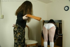 Real Spankings Institute - Betty Is Strapped For Disrupting Class - image 14