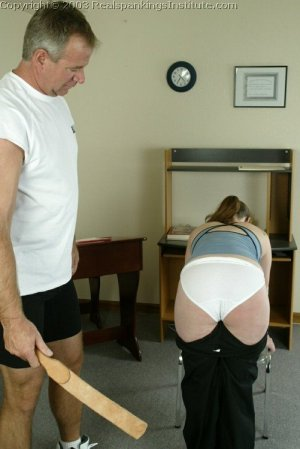 Real Spankings Institute - Lori Is Strapped By The Coach - image 9