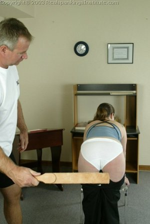 Real Spankings Institute - Lori Is Strapped By The Coach - image 8