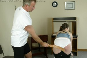 Real Spankings Institute - Lori Is Strapped By The Coach - image 2