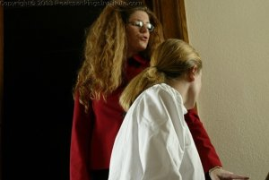 Real Spankings Institute - Jennifer Is Strapped In The Hallway - image 4