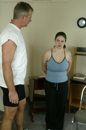 Real Spankings Institute - Lori Is Strapped By The Coach - image 3
