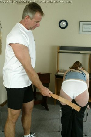Real Spankings Institute - Lori Is Strapped By The Coach - image 7