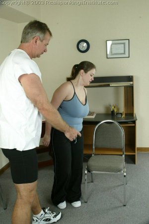 Real Spankings Institute - Lori Is Strapped By The Coach - image 18
