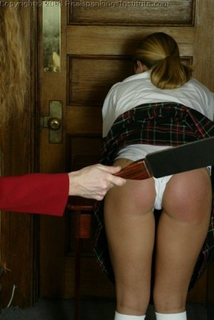 Real Spankings Institute - Jennifer Is Strapped In The Hallway - image 8