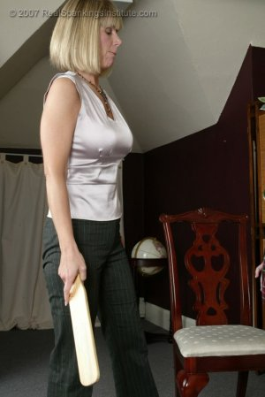 Real Spankings Institute - Riley Gets Spanked For Playing Pranks - image 9