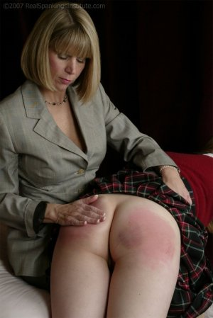 Real Spankings Institute - Monica Violates The Dress Code - image 3