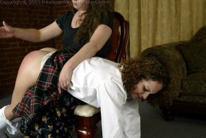 Real Spankings Institute - Jasmine Is Punished By The Dorm Mom - image 6