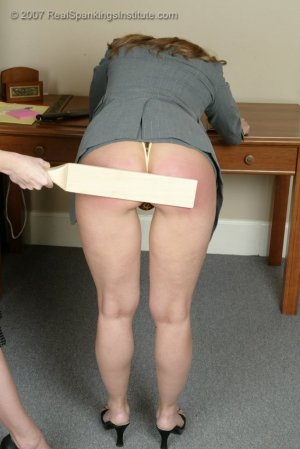 Real Spankings Institute - Ms. Burns' Retribution - image 8