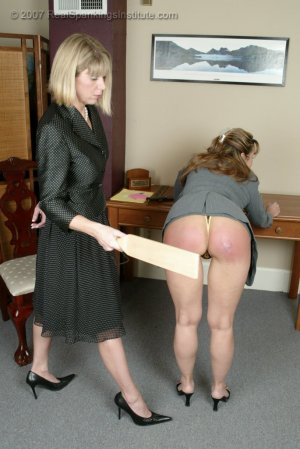 Real Spankings Institute - Ms. Burns' Retribution - image 9