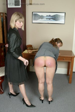 Real Spankings Institute - Ms. Burns' Retribution - image 3